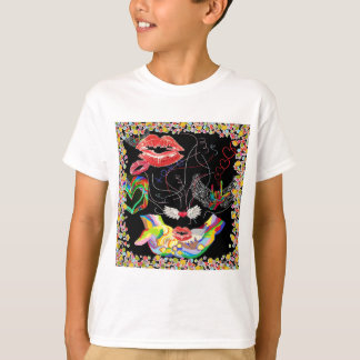 Throwing Kisses and I LOVE Yous T-Shirt