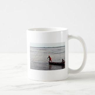 Throwing Net, the Amazon River Coffee Mug