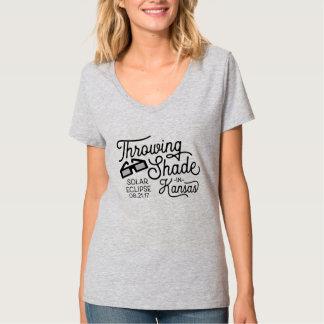 Throwing Shade in Kansas Solar Eclipse T-Shirt