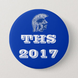 THS Tremper High School 2017 3 Inch Round Button