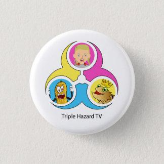 THTV Logo Bagde Small 1 Inch Round Button