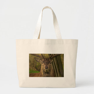 Thug deer large tote bag