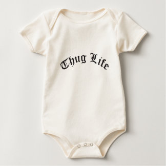 THUG LIFE for babies Baby Bodysuit
