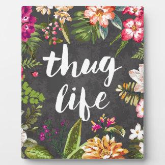 Thug life photo plaques