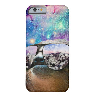 Thug Life Sloth On Galaxy Space Barely There iPhone 6 Case