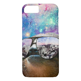 Thug Life Sloth On Galaxy Space iPhone 7 Case