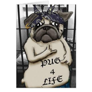 Thug Pug Card