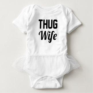 Thug Wife Baby Bodysuit