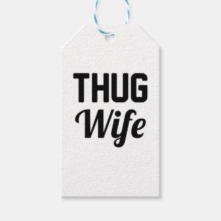 Thug Wife Gift Tags
