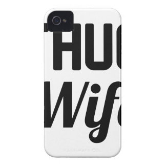 Thug Wife iPhone 4 Case-Mate Case