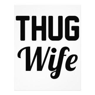 Thug Wife Letterhead