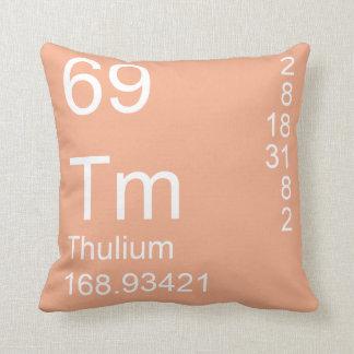 Thulium Throw Pillow