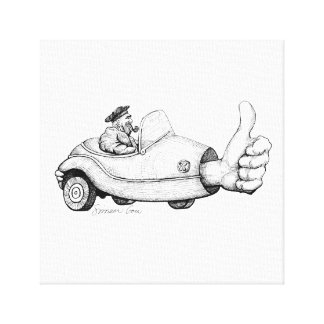 Thumb Drive Canvas Print