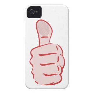 Thumb highly thumb UP iPhone 4 Cover
