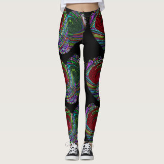 Thumb Print Leggings