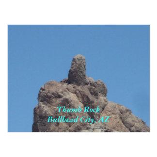 Thumb RockBullhead City, AZ Postcard