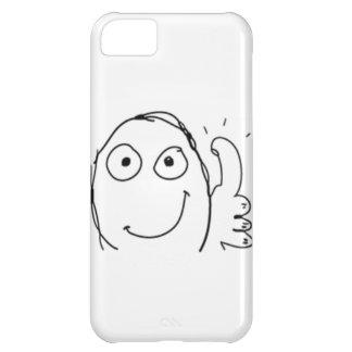 Thumb up Comic Meme. iPhone 5C Cover