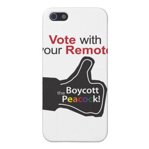 Thumb up to Vote with Your Remote Cases For iPhone 5