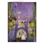 Thumbelina Fairy Tale Illustration Card