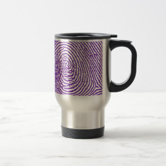 thumbprint FINGERPRINT Travel Mug