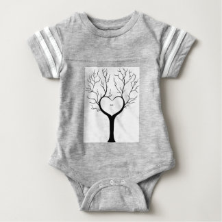 Thumbprint Tree Baby Bodysuit