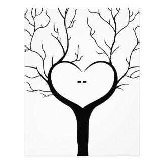 Thumbprint Tree Letterhead