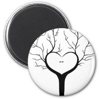 Thumbprint Tree Magnet