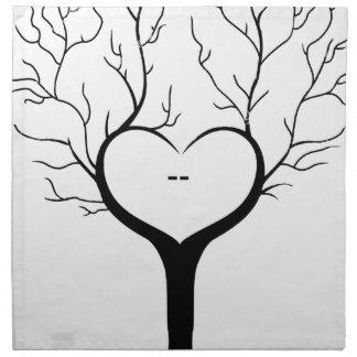 Thumbprint Tree Napkin