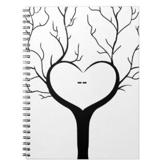Thumbprint Tree Notebook
