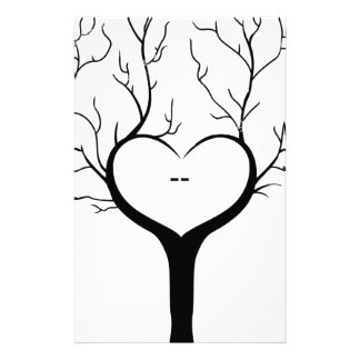 Thumbprint Tree Stationery