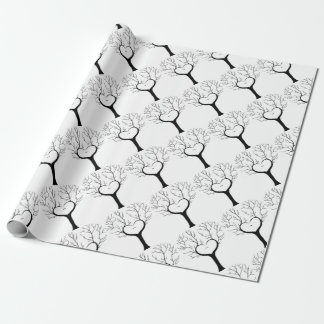 Thumbprint Tree Wrapping Paper