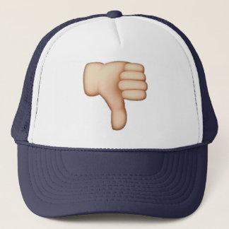 Thumbs Down - Emoji Trucker Hat