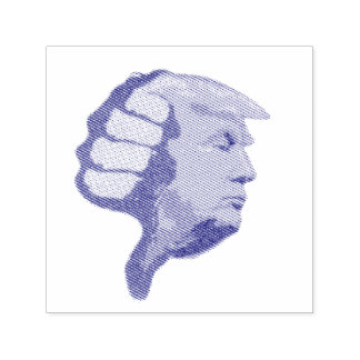 Thumbs Down on Trump Self-inking Stamp