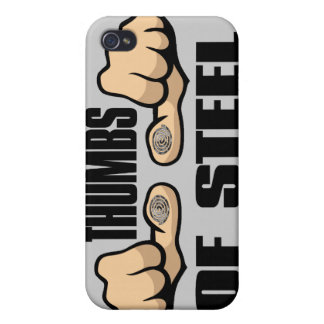 Thumbs of Steel iPhone 4 Cover