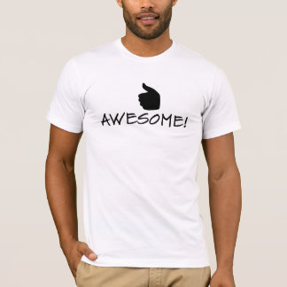 Thumbs-Up & AWESOME! Men T-Shirt