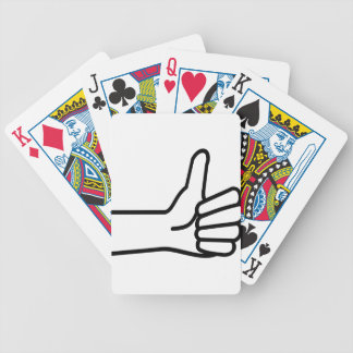 Thumbs Up Bicycle Playing Cards