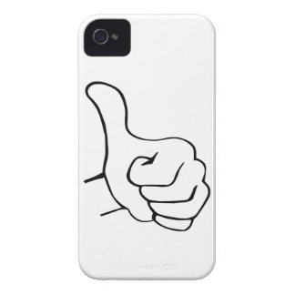 Thumbs Up iPhone 4 Case-Mate Case