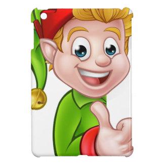 Thumbs Up Christmas Elf Cartoon Character iPad Mini Cases
