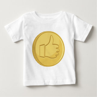 Thumbs Up Coin Baby T-Shirt