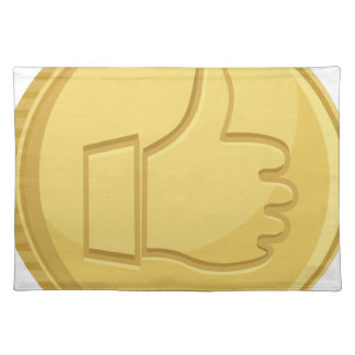 Thumbs Up Coin Placemat