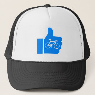 Thumbs Up Cycling Trucker Hat