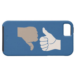 Thumbs Up Down Karma Goes Around iPhone 5 Case