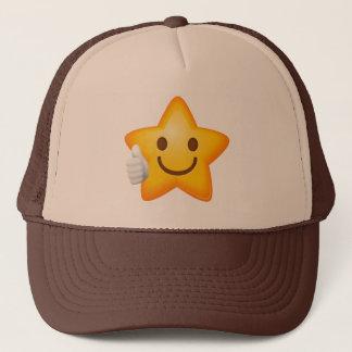 Thumbs Up Emoji Star Trucker Hat