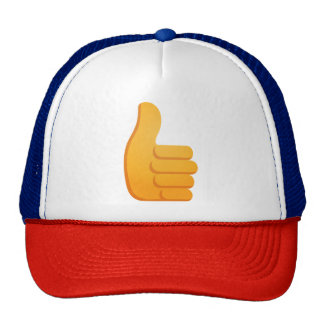Thumbs Up Emoji Trucker Hat