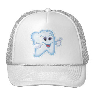 Thumbs up for dental hygiene! mesh hats