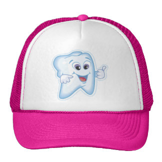 Thumbs up for dental hygiene! hats