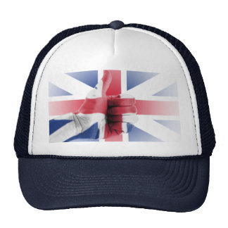 thumbs up for uk mesh hat