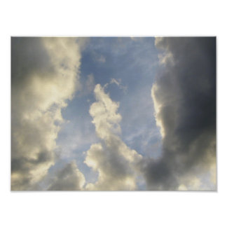 Thumbs-up from the Sky Print