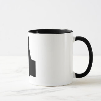 Thumbs Up Gesture, White Back Mug