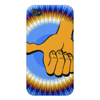 Thumbs Up & Groove_ iPhone 4 Cover